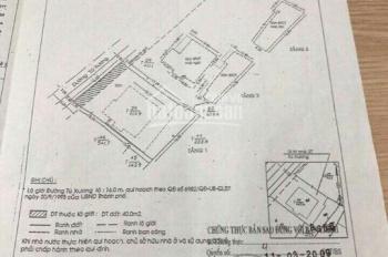 Chạy dịch Corona bán biệt thự Tú Xương, Q3, diện tích 16,5m x 25m vuông tuyệt đối; giá 140 tỷ