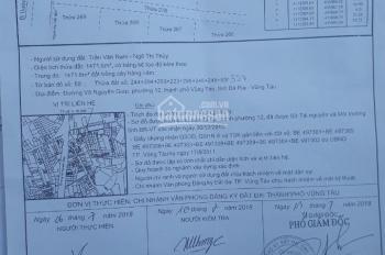 Bán đất P. 12, TP Vũng Tàu, bán giá rẻ để lo việc nhà 2tr5/m2 có kéo điện nước