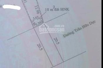 Bán đất mặt tiền nhựa 20,5m Trần Hữu Dực, 5.6x24m, TTTP Đông Hà nở hậu 7,64m, giá tốt 1.38 tỷ