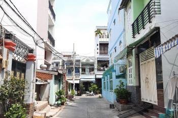 Bán đất tặng nhà MTNB khu Bình Phú 1 - P10 Q6 diện tích: 4mx16m (nở hậu 4,2m) - kết cấu: 1T 2L