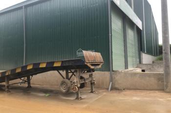 Cho thuê nhà xưởng tại Hòa Lạc, giáp khu công nghệ cao
