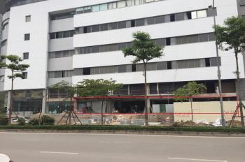 Cho thuê mặt bằng tầng 1 tòa nhà Toyota Mỹ Đình, 250m2, mặt tiền 34m, làm ngân hàng, cafe, showroom