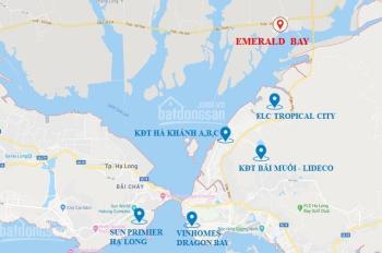 Chính chủ cần bán căn góc cực vip trục 42m dự án Emerald Bay Hoành Bồ