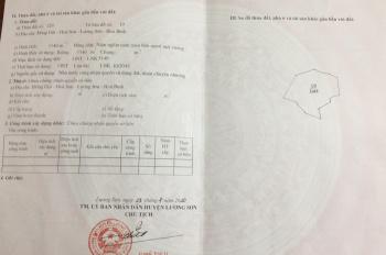 Bán nhanh lô đất diện tích 5540m2 tại Hòa Sơn Lương Sơn Hòa Bình, giá 2,9 tỷ