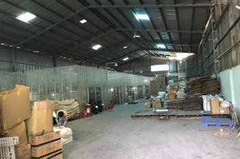 Cho thuê kho xưởng lớn 1100m2 giá rẻ đường 20m Phan Huy Ích
