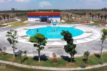 Bán đất Mega City 2, mặt tiền đường 25C nối TP với sân bay Long Thành. Giá 6.2 tr/m2, đất thổ cư