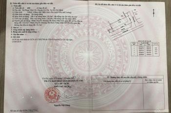 Chính chủ bán gấp lô đất 195m2 góc 2 mặt tiền Bùi Thị Điệt, xã Phạm Văn Cội