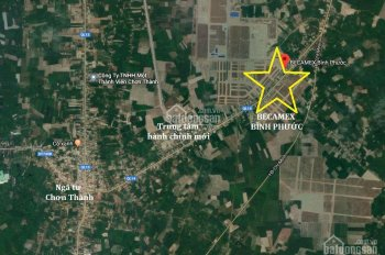 Chỉ 600tr sở hữu ngay lô đất liền kề sân vận động Becamex ngay TTHC Chơn Thành. LH 0932063512