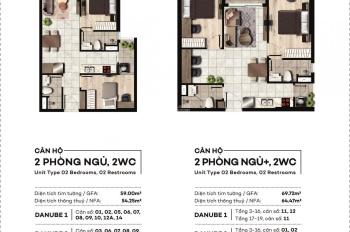West Gate căn hộ ngay trung tâm giá chỉ 1,8 tỷ/căn 2PN, 2VS - TT 1% tháng
