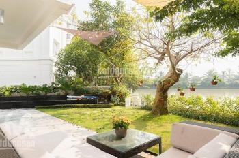Bán biệt thự khu Hoa Lan, 279m2, 19.5 tỷ, hoàn thiện đẹp, ngã 3 sông, view vườn hoa Vinhomes.