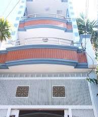 Bán nhà HXH 6m CMT8, P5, Tân Bình; (4x15m), 4 lầu mới đẹp ở liền giá: 9.6 tỷ