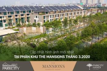 Liền kề vườn 3 tầng diện tích 154m2 The Mansions ParkCity Hà Nội, đã hoàn thiện. Giá 15,5 tỷ