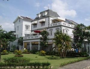 Biệt thự đơn lập góc 2 mặt tiền đối diện công viên, khu Nam Viên Phú Mỹ Hưng, Q7 sổ hồng giá 68 tỷ