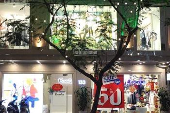 Cho thuê nhà mặt phố Thái Hà: Mặt tiền 15m, diện tích 80m2 x 4 tầng. Giá 125tr/tháng
