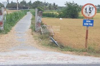 Bán mảnh lô đất hẻm xe hơi tới đất xã Vĩnh Hựu, Gò Công Tây, tiền Giang