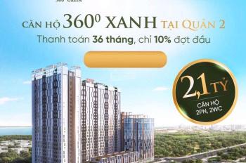 Citi Grand Kiến Á Quận 2, giá cực rẻ 2,1 tỷ/căn 2PN 2WC thanh toán giãn 3 năm - 0902541939