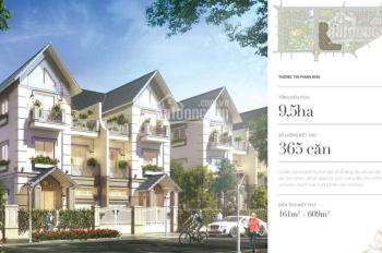 Bán biệt thự song lập xây thô Vinhomes Riverside, giá 15 tỷ