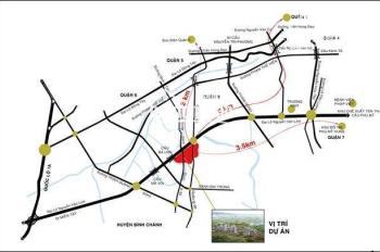 Tôi cần bán gấp 5 lô đất nền KDC Hạnh Phúc, MT Nguyễn Văn Linh bán gấp chỉ 2.2 tỷ/100m2, LH A. Vũ
