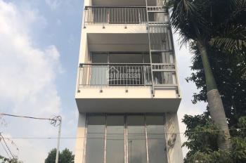 Cho thuê nhà đường 44, Thảo Điền Q2, 4,5x18m 1 trệt 4 lầu 1MB 12PN, 12WC full NT 72tr, 0932.103.949