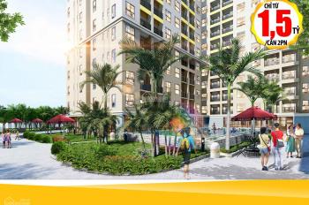 Sở hữu ngay căn hộ Bcons Green View Phạm Văn Đồng nối dài, đối diện BigC thành phố Dĩ An từ 140tr