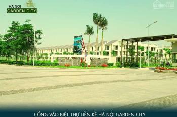 Bán suất ngoại giao 49tr/m2 biệt thự liền kề Hà Nội Garden City đã có sổ, chỉ việc hoàn thiện vào ở