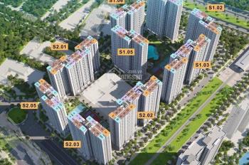 CC bán lại shophouse chân đế chung cư S2 - 03 - 12, cạnh sảnh ra vào căn hộ. Dt 106m2, gốc 5,05 tỷ