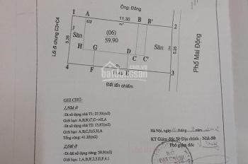Bán nhà mặt phố Mai Động thông số vàng KD sầm uất 60m2, MT 5.3m, 9 tỷ