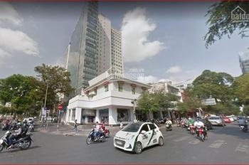 Góc 2 MT 18x25m Hai Bà Trưng - Nguyễn Thị Minh Khai, quận 1, giá: 500 triệu/tháng