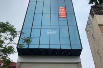 Bán tòa nhà mặt đường Nguyễn Khang 125m2 x 9 tầng, kinh doanh, cho thuê thoải mái. LH 0376752087