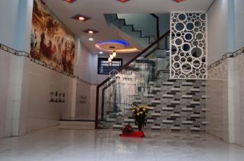 Cho thuê nhà nguyên căn hẻm 6m Gò Dầu Q Tân Phú 5 x 20 - đúc 1 lầu, 1 sân thượng 2PN - 2 VS mới đẹp