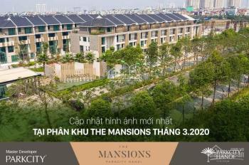 Bán nhà The Mansion Park City Hà Nội diện tích 154m2 x 3 tầng (hướng Tây Bắc), giá chỉ 15,5 tỷ