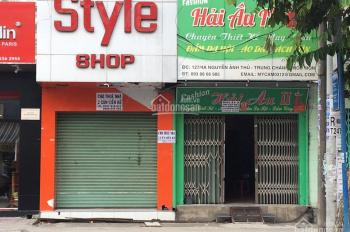 Cho thuê nhà 2 căn liền kề, mặt tiền đường Nguyễn Ảnh Thủ (Hóc Môn - Quận 12)