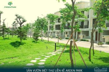 Biệt thự 50 tr/m2 Arden Park Garden Villa, miễn 5 năm dịch vụ và gym, đã hoàn thiện mặt ngoài ốp đá
