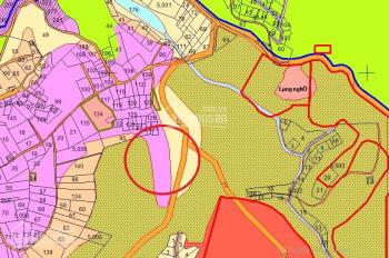 Cần bán lô đất mặt tiền cực đẹp chiều ngang gần 100m khu vực Đạ Sar. LH 0915136505