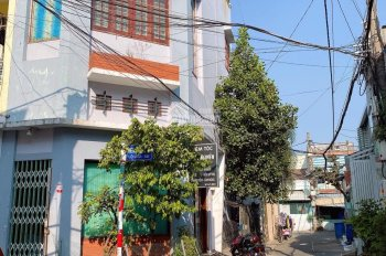 Bán nhà góc 2 mặt hẻm đường Thạch Lam, P Phú Thạnh, Q Tân Phú, DT 4x11m, đúc 2 lầu hẻm 4m