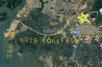 Bán đất MT đường lên Núi Dinh - Phú Mỹ giá 1.136 tỷ/nền có sổ gần cảng Cái Mép Thị Vải