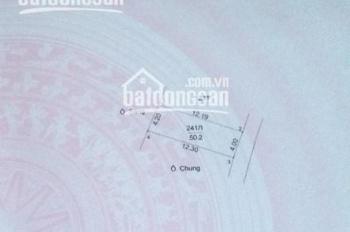 Bán đất có nhà 50,2m2 mặt tiền 4m, sổ đỏ chính chủ tại Đức Thượng, Hoài Đức, Hà Nội