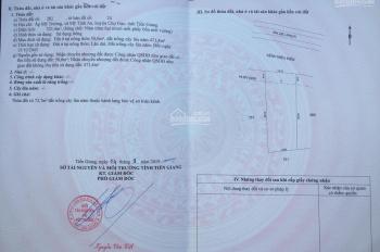 Bán đất chính chủ tại ấp Mỹ Trường, xã Mỹ Tịnh An, huyện Chợ Gạo, Tiền Giang