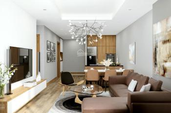 Em bán căn hộ cao cấp 2 phòng ngủ 76m2 trung tâm Cầu Giấy. Đầy đủ nội thất, giá 2,8 tỷ