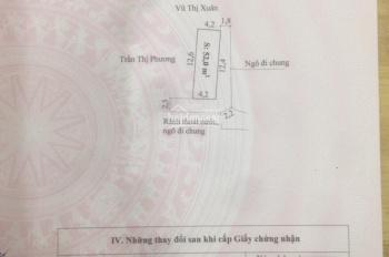 Bán gấp lô góc 2 mặt tiền chợ Hương, phường Hưng Đạo, quận Dương Kinh, Hải Phòng. 0971965592