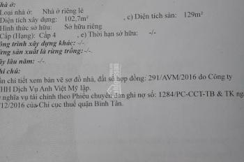 Nhà 88 Ấp Chiến Lược, Bình Hưng Hòa A, Bình Tân, 8 tỷ 5 thương lượng
