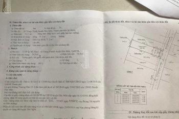 Cần bán nhà xã Trung Chánh, Hóc Môn, DT: 4x19m, LH: 0909846147