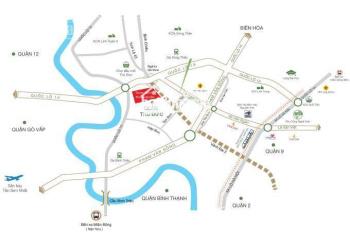 Siêu dự án Tam Bình Riverside MT Tô Ngọc Vân, Thủ Đức chỉ 35tr/m2 thổ cư sổ hồng LH 0936980313 Loan