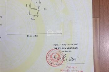 Bán nhà đất ngõ phố Hồ Xuân Hương, khu 11 phường Ngọc Châu
