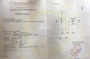 Bán đất 2MT đường Chương Dương - Ngũ Hành Sơn