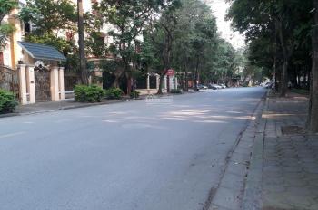 Chính chủ bán gấp biệt thự bán đảo Linh Đàm, DT 275m2 x 4 tầng, MT 13m, đường rộng 30m, SĐCC