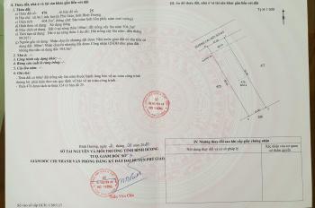 Đất An Linh, Phú Giáo chỉ 325 triệu/500m2. LH 0913677601