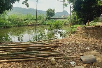 Bán gấp lô đất 1888m2 ở Lương Sơn Hòa Bình, đã xây tường bao kiên cố, có ao giá cực rẻ!