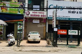 Cho thuê nhà hai tầng to mặt đường số 10 Trần Cung gần Hoàng Quốc Việt