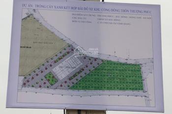 Chính chủ mình cần bán 73,81m2 đất đấu giá đầu làng Thượng Phúc - Bắc Hồng, giáp đường vành đai 3